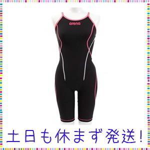 arena(アリーナ) トレーニング 競泳用 水着 レディース タフフライバックスパッツ SAR-9100W Kブラック × ピンクK × Fピンク