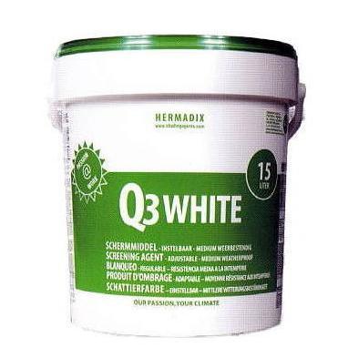 白色遮光剤 Q3段階ホワイト 15L シーアイマテックス