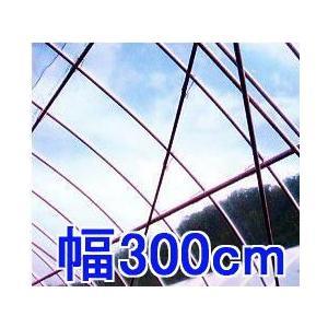 切り売り 30m以上フリーカット 塗布無滴農POイースター 厚み0.1mm幅300cm長さ30m重さ約8.6kg