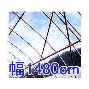 塗布無滴農POイースター 厚み0.1mm幅1480cm長さ30m重さ約42.2kg 中接加工 法人限定