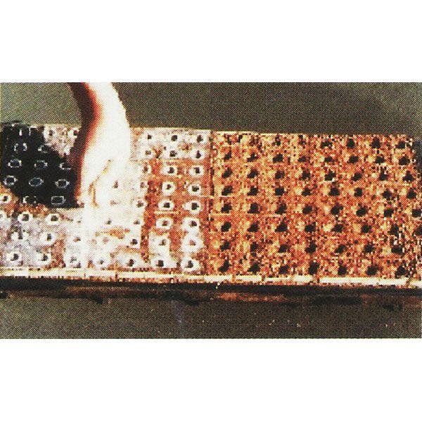 ポットプレート No.15(W)・MP220(W) 1回押し 播種穴あけ器 [ペーパーポット ミニポット]