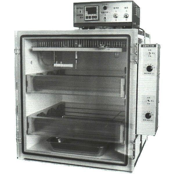 孵卵器 P-008B型(バイオ仕様) 自動転卵装置付き(フランキ ふ卵器 孵化器 孵化機) 昭和フランキ