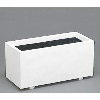 ホワイトプランター W-100型 【ファイバーグラス製】 [ホワイト プランター 白 プラスチック] 大和プラスチック