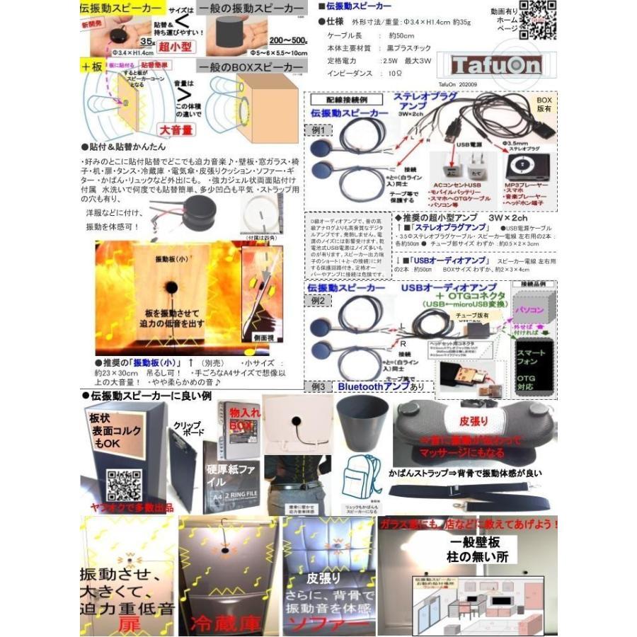 超小型アンプ 3W×2ch USBオーディオアンプ  BOXタイプ|tafuon|06