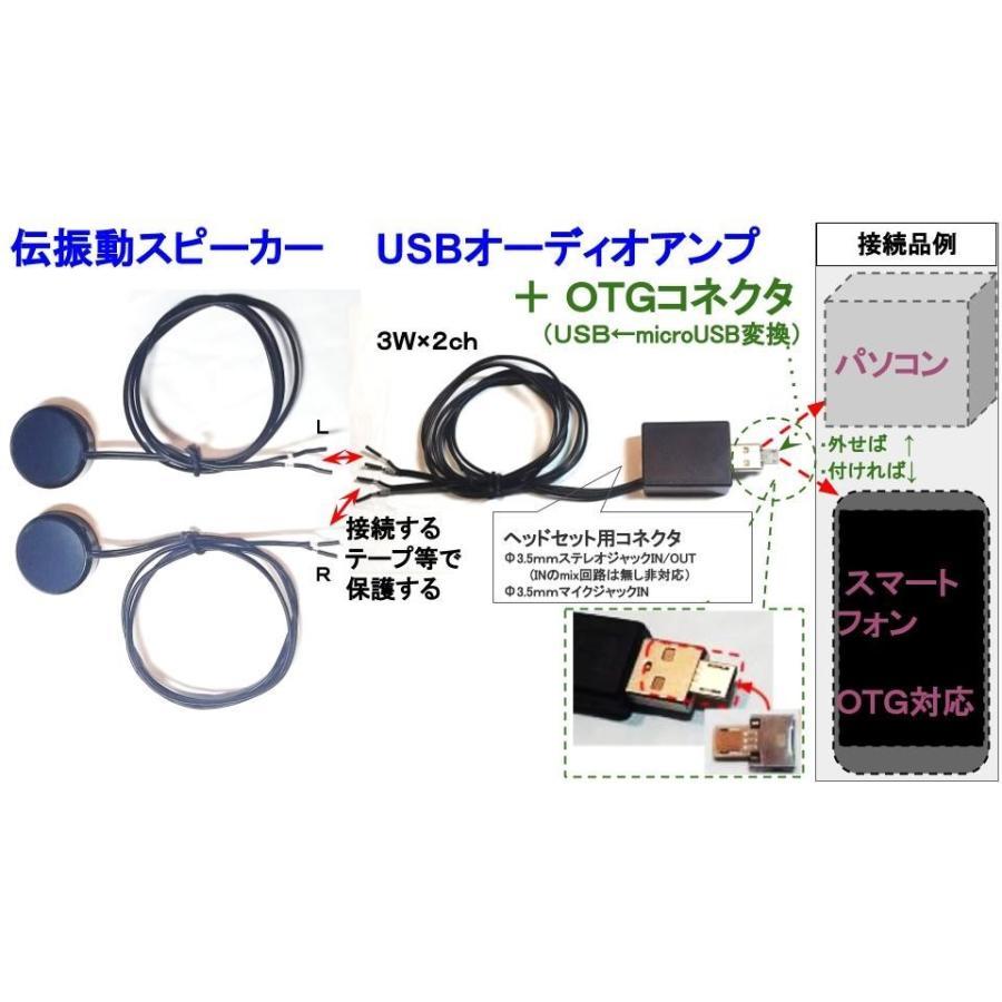 スマホから電源とりながら通信可 OTGコネクタ ミニ  (ホストコネクタ) USBに入れてmicroUSBに変換 送料92円 tafuon 04