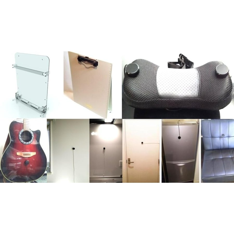 伝振動スピーカー 壁板や窓がスピーカーになる 貼替簡単×小型大音量|tafuon|09