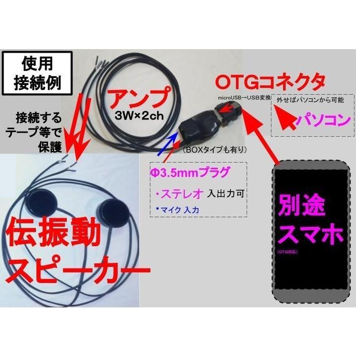 超小型 3W×2ch USBオーディオアンプ チューブタイプ|tafuon|03