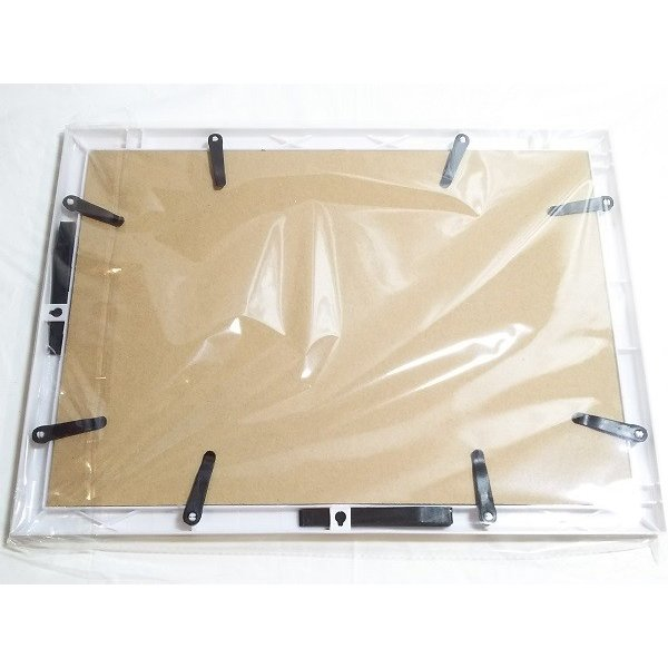 アートフォトフレームA4 縦横置き可 写真立てなど 銀/黒/茶/白など 伝振動スピーカー振動板になる|tafuon|09
