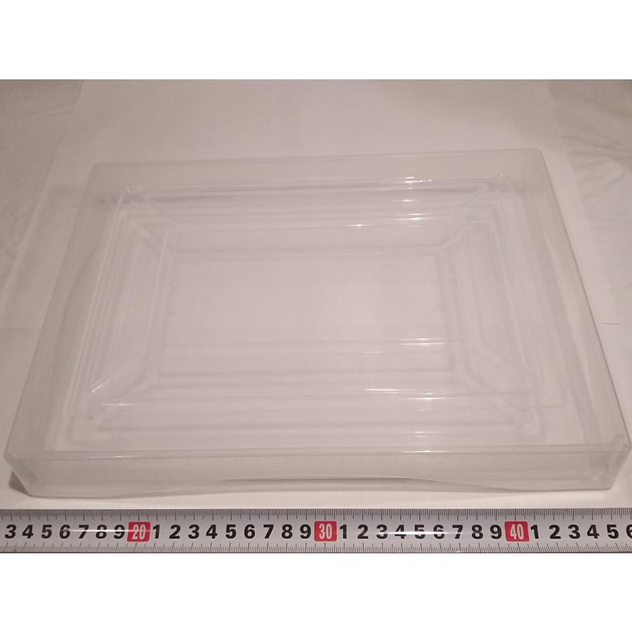 A4ファイル書類ケース透明 蓋付き 重ね置き可  伝振動スピーカーに良い|tafuon|02