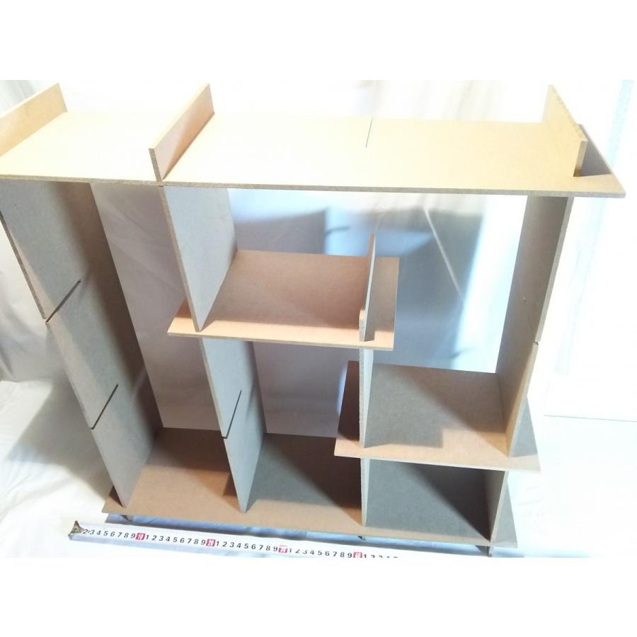 差込組立で棚にする板 (大)  伝振動スピーカーに良い|tafuon|02