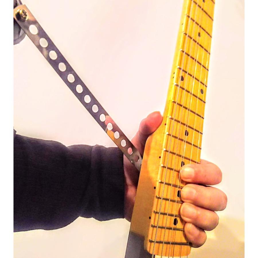 バーエレキギター透明ボディ シンプル軽量な未来型|tafuon|13