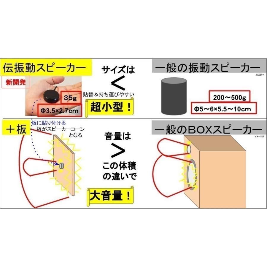 コルクボード Mサイズ 紐・金具付き 伝振動スピーカー振動板|tafuon|04