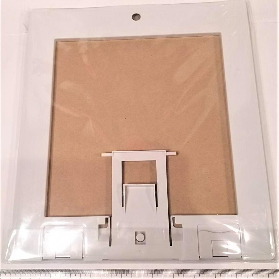 2連の色紙額縁 スタンド付き つなげられる 伝振動スピーカー振動板になる tafuon 02