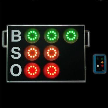 ★【LINK】リンク 小型無線BSOカウント表示器 cdz-280b