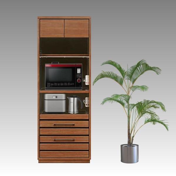 レンジ台 幅70cm 完成品 レンジボード モイス付き キッチン収納 キッチンボード 木製