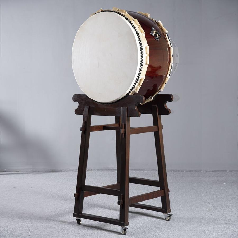 大平胴太鼓 大平太鼓 3尺(鼓面:90cm) やぐら台·据え置き台付 弁慶