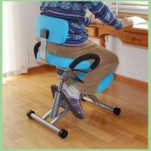 送料無料「バックボーンチェア」「学習椅子 学習イス」学習チェア 背もたれの付いたガス圧式バランスチェアTJ−S456A【】 tailee