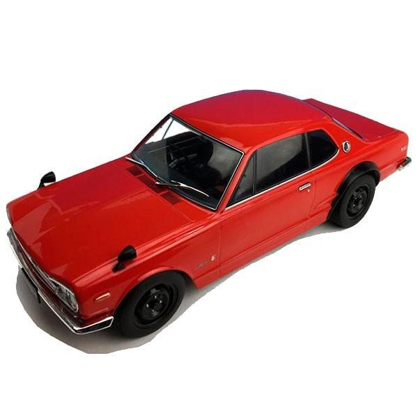 First18/ファースト18 日産 スカイライン GT-R (KPGC10) レッド 1/18スケール F18003 送料無料
