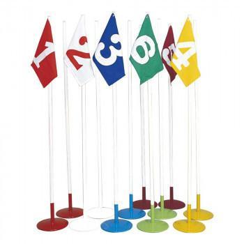 ファッションなデザイン 等賞旗兼用ドリブルポール 12台セット A-2551 送料無料  き, メンズストール専門店MORE Style 784ca4bb