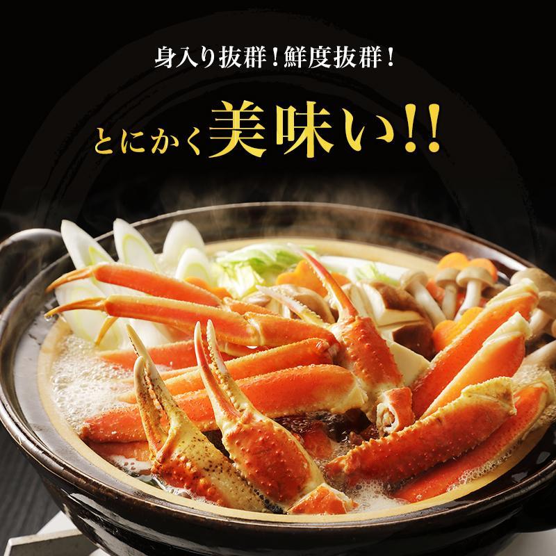 カニ ズワイガニ 足 特大 5kg カニ 食べ放題 5kg セット かに カニ 蟹 脚 ずわいがに ズワイガニしゃぶしゃぶ用 ボイルズワイガニ taino-tai 06