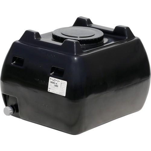 スイコー ホームローリー HLT-300 黒 本体 900×740×H630 農業 園芸 防災 貯水 ポリタンク
