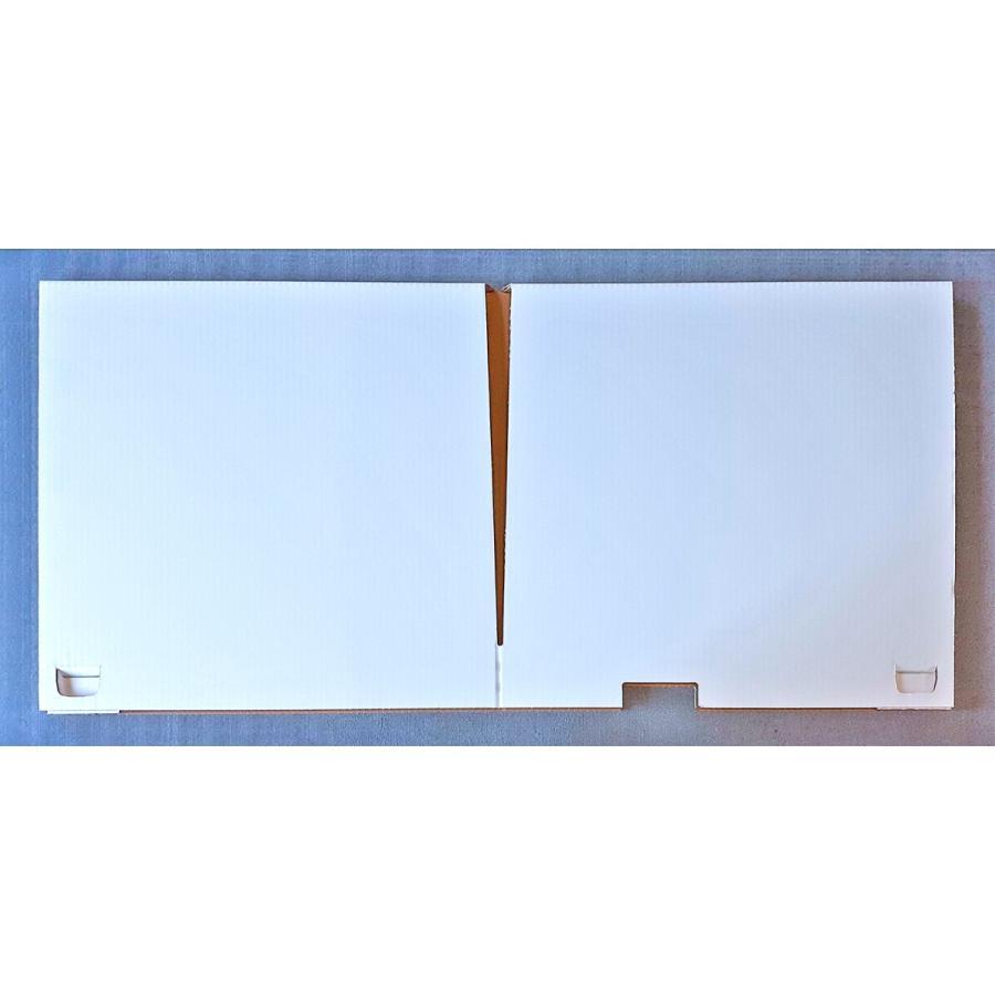 デスク用パーテーション 仕切り 間仕切り オフィス 飛沫感染対策 ダンボール製 1セット(2枚)アフターコロナ ニューノーマル|taisei-dan|03