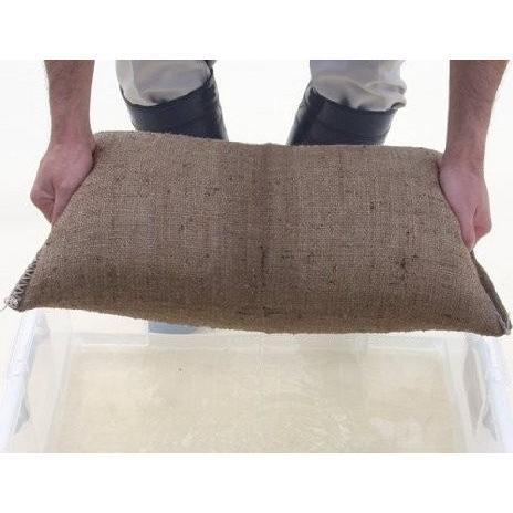 緊急災害補助用品 水で膨らむ 吸水性土嚢 ダッシュバッグ 10袋入り×3パック 30枚