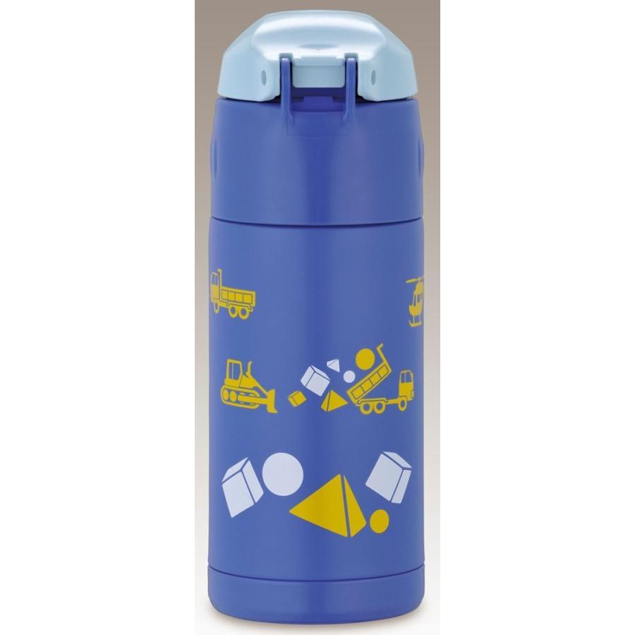 サーモス 水筒 真空断熱ストローボトル ワンタッチオープンタイプ 0.36L ブルー FFI-400F BL
