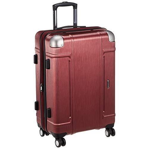ゼット・エヌ・ワイ スーツケース ミネオラ 拡張可能 双輪キャスター TSAロック 73L 59 cm 4.4kg レッド