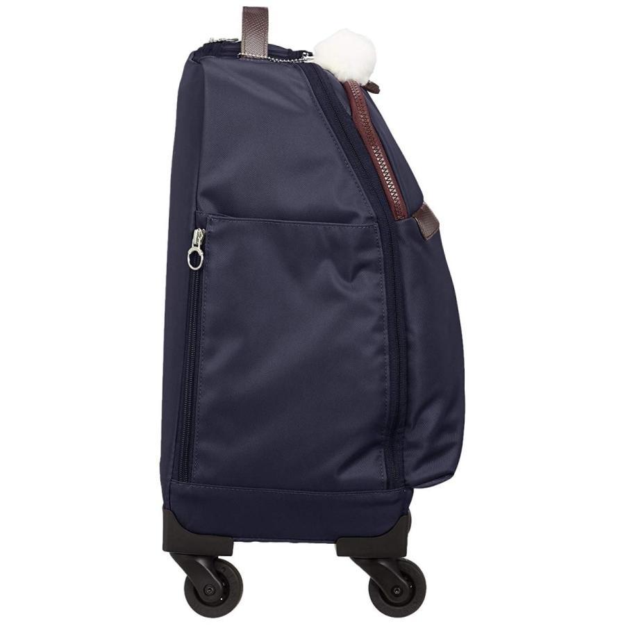 【美品】 カナナ プロジェクト スーツケース PJ10-2nd TR サイレントキャスター 機内持ち込み可 25L 29 cm 2.1kg ネイビー, 足利市 aa551825