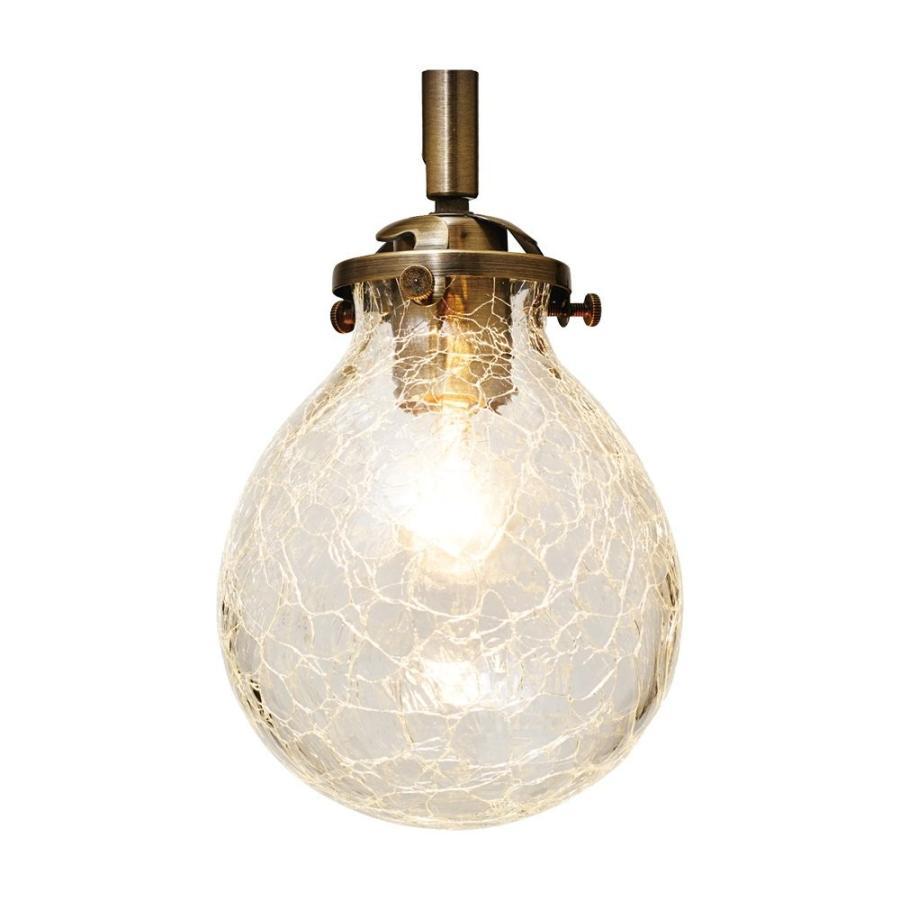 ブラケットライト マルヴェル-BS- 小形LED電球(電球色)1つ付 ひびガラス LT-2460CR LT-2460CR
