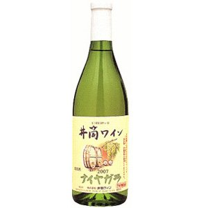ワイン 井筒ワイン 無添加 ナイヤガラ 白 甘口 720ml 長野県 塩尻市|taiseiya