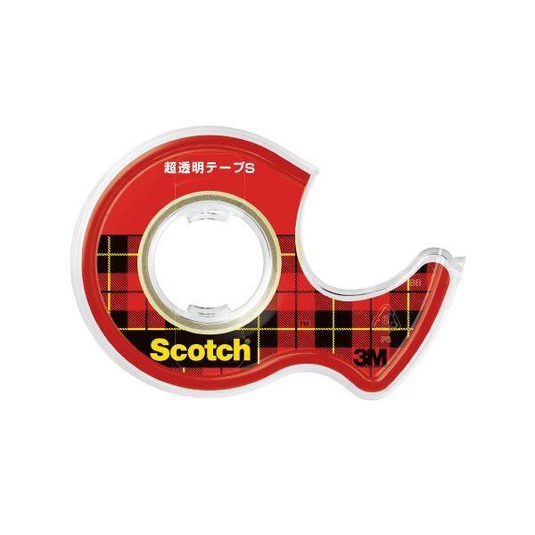 (まとめ)スリーエム ジャパン 超透明テープS 12mm×12m CC1212-D-N〔×200セット〕