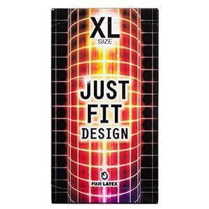 至上 コンドーム 商舗 ジャストフィット X-LARGE 12個入 XLサイズ 不二ラテックス 品名なし配送