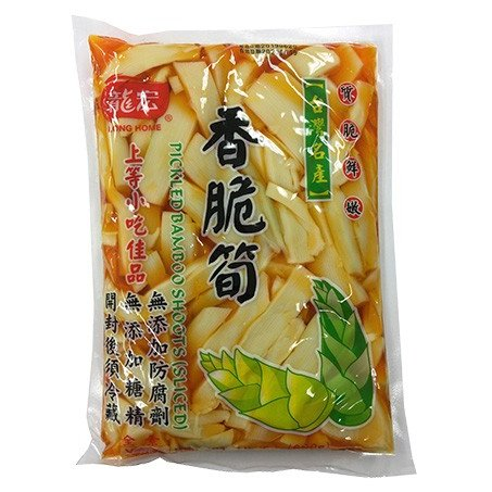 メンマ 味付け筍 龍宏香脆筍 5袋送料無料 漬物 台湾定番おみやげ おつまみ|taiwanbussankan|02