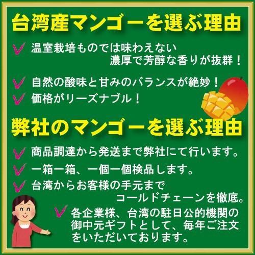 お中元 御中元 ギフト アップルマンゴー2.5kg 台湾産 期間限定 送料無料 taiwanbussankan 03