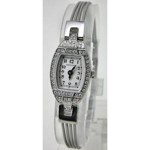 【お得】 HAMILTON 腕時計 レディハミルトン レプリカ ダイヤモンド入り Ref.H31151183 国内正規品, 明和町 7a5208e7