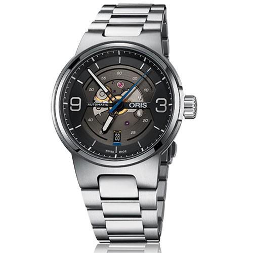 【税込?送料無料】 ORIS オリス 腕時計 ウィリアムズ スケルトンエンジン デイト 自動巻き Ref.73377164164 メンズ 国内正規品, ジンセキコウゲンチョウ 56f99631