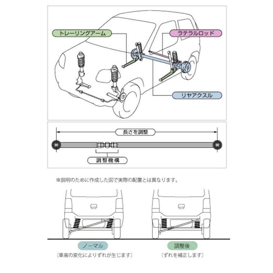 ラテラルロッド【調整式ラテラルロッド】ラパン/ワゴンR|tajimastore|02