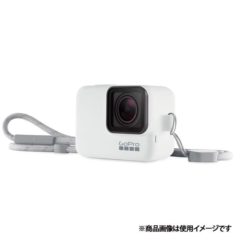 GoPro スリーブ + ランヤード (HERO7) ホワイト 在庫限り 純正アクセサリー 小型宅配便|tajimastore