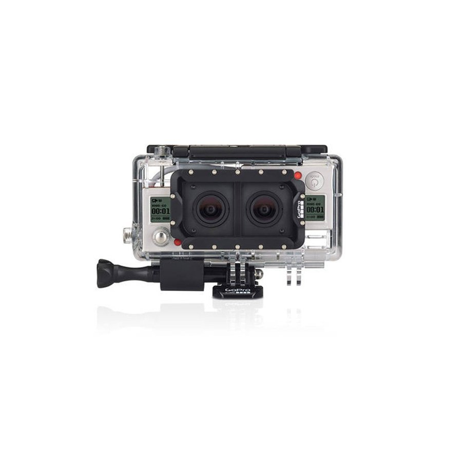 GoPro デュアルヒーローシステム (HERO3+ブラック専用) / AHD3D-301 純正アクセサリー 小型宅配便 tajimastore