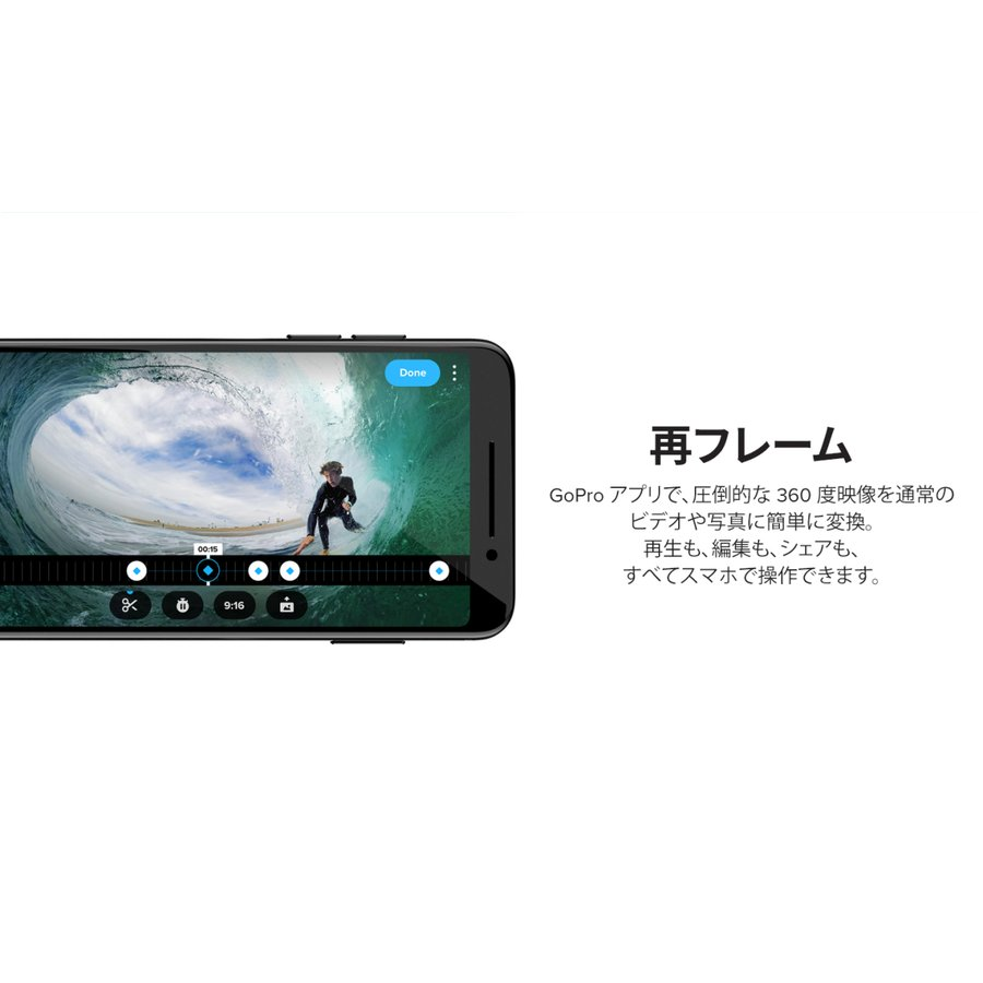 GoPro MAX(マックス) / CHDHZ-202-FX 小型宅配便 tajimastore 21