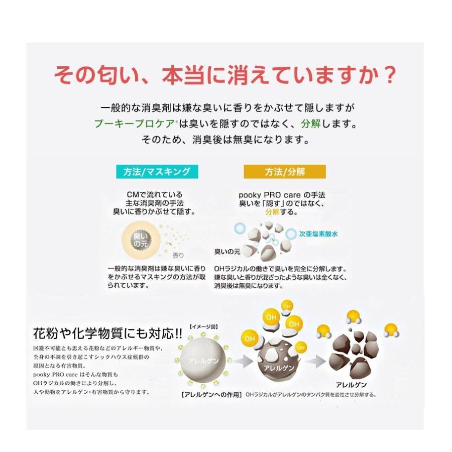 プーキープロケア プロミスト  噴霧器 PK-602(S)(まる型)  次亜塩素酸水 空間除菌 花粉 ウイルス 代引き不可|takagiyakuhin|11