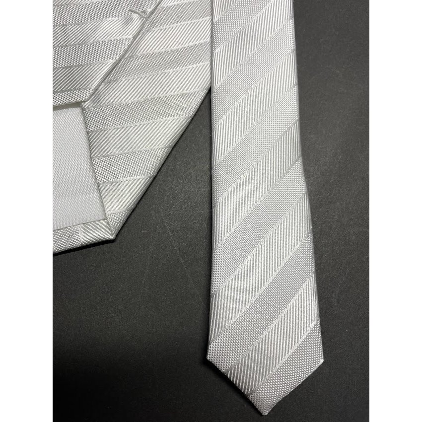シルバーグレー ネクタイ 日本製 京都 西陣織 撥水加工 絹100% 礼装用 礼服用 結婚式 冠婚葬祭 フォーマル シルク NF101|takahashi-neck-wear|06