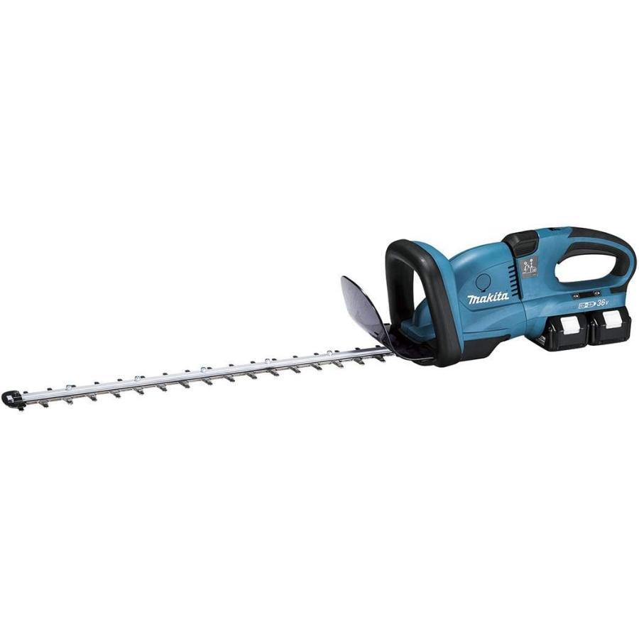 マキタ 充電式ヘッジトリマ MUH551DPG2 刈込幅550mm 上下刃駆動式 18V+18V=36V 6.0Ah 特殊コーティング刃仕様