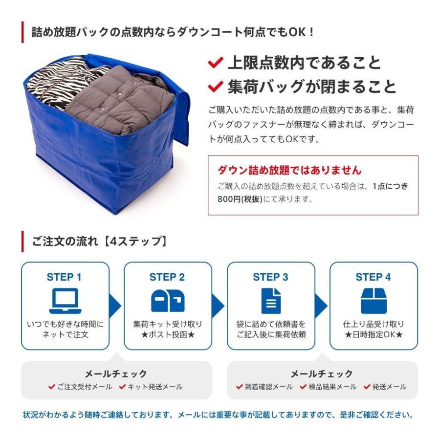 クリーニング 宅配 保管 詰め放題 5点まで 最大一年保管 衣替え 新生活 送料無料 シミ抜き 立体配送 タカケン|takaken|09