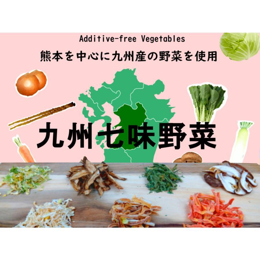 九州七味野菜 九州産 120g  無添加 無塩 ブドウ糖不使用 7種類の野菜 スープの具 味噌汁の具 野菜不足解消に|takamax10|03