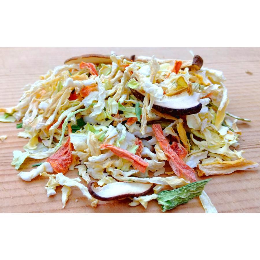 九州七味野菜 九州産 120g  無添加 無塩 ブドウ糖不使用 7種類の野菜 スープの具 味噌汁の具 野菜不足解消に|takamax10|05