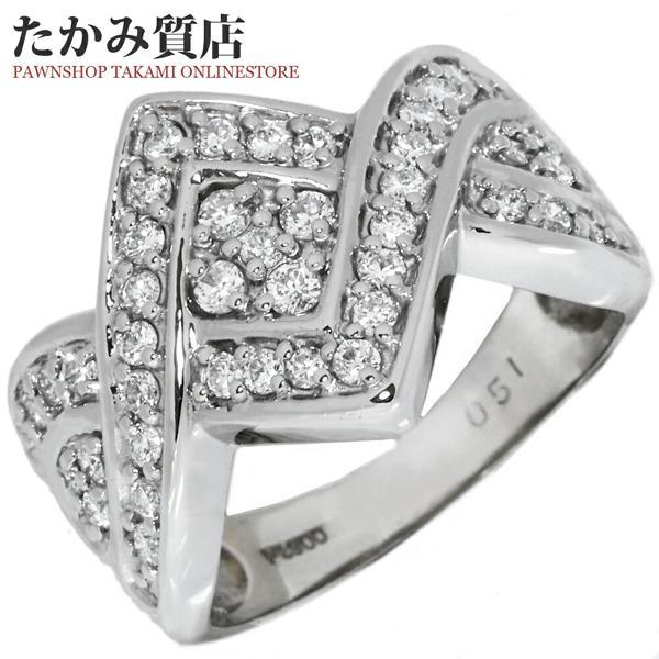 人気カラーの 指輪 指輪 リング 9.5号 リング Pt900 ダイヤ0.51ct 9.5号, Moon Label 大月真珠 Online Shop:53a24a4f --- airmodconsu.dominiotemporario.com