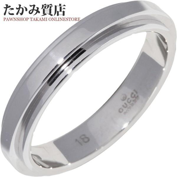 限定価格セール! グッチ 指輪 リング デザインリング メンズリング K18WG 指輪 指輪 リング メンズリング デザインリング #18 17号, Blooming [ブルーミン]:a2599a7d --- airmodconsu.dominiotemporario.com